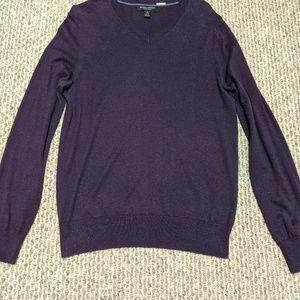 Banana Republic purple sweater